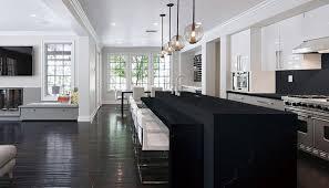 black quartz countertop