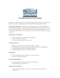 free printable business plan sample form generic  business plan sample