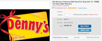 use of gift card consutes acceptance of these terms this card does not expire to check your balance visit dennys