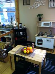 Preschool Kitchen Furniture Dramatic Play Reggio Elmhurstacademy Pinteres
