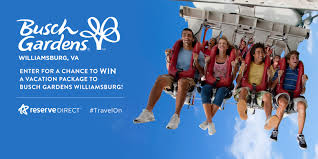 busch gardens va packages. Enter For A Chance To WIN Busch Gardens Williamsburg Vacation Package! Va Packages