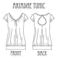 Tunic Pattern Free Cool Ariadne Tunic TanitIsis Sews