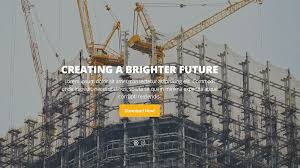 Construction Website Templates Extraordinary 48 Free Bootstrap Construction Company Website Templates 48