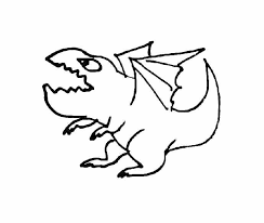 Dragon Coloring Page Funny Monsters And Dragons Coloring Pages