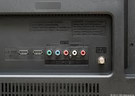 lg tv hdmi port. two hdmi ports are the highlight here. sarah tew/cnet lg tv hdmi port x