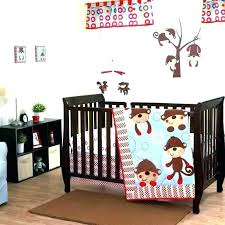 safari crib bedding jungle crib bedding monkey crib set monkey baby crib bedding sock monkey baby