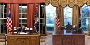 oval office. oval office paintings renovation the white house redesign a