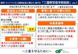 コロナ ウイルス 三重 県 最新