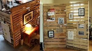 office wall divider. Chic Office Wall Dividers For Sale Wooden Pallet Room Divider Interior