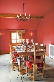 reinvent a room by painting the ceiling with color dining room paint