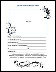 parenting certificate templates certificate godparents pinterest certificate