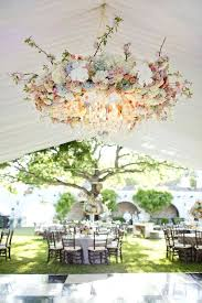 flower chandelier beautiful fl in pastel shades with crystal pendants for a spring wedding artificial diy flower chandelier