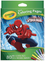 Small Picture Amazoncom Crayola Ultimate Spiderman Mini Coloring Pages Toys
