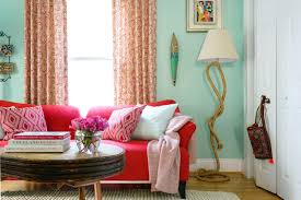 colorful multipurpose living space interior design styles and color schemes for home decorating hgtv design bright colorful home