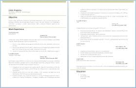 Quick Resume Template Word Orlandomoving Co