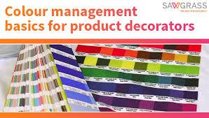 Dye Sublimation Color Chart Colour Management Basics For Product Decorators