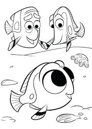 Finding Dory Dory Nemo Coloring Page Crayola Com Color Online