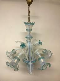 vintage venetian murano glass chandelier 1