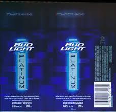 Bud Light Platinum Font Bud Light Platinum Anheuser Busch Inbev February 25 201