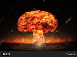 nuclear powerpoint template. PowerPoint Template nuclear energy explosion in an bdagbazcb