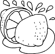 Small Picture Fruit coloring pages lemon ColoringStar