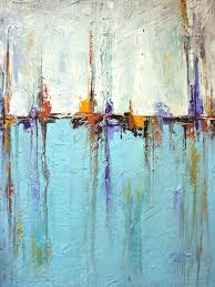 sailing painting sailing texture white and blue abstract painting by liz moran