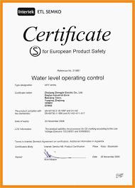 Warranty Certificate Template Word Unique Warranty Letter Format