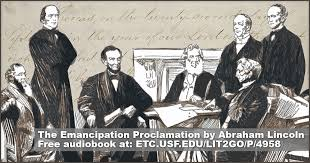 「the Emancipation Proclamation」の画像検索結果