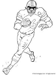 Small Picture Get This Football Player Coloring Pages to Print Online 63719