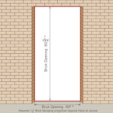 house front door open. Entry Door Brick Opening House Front Open