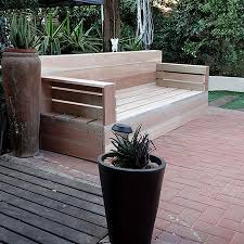 make your own wood patio furniture build patio furniture