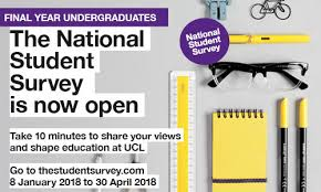 National Student Survey 2018 Is Now Open: Tell Us About Your Ucl ...