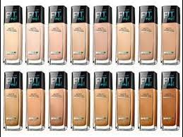 Maybelline Fit Me Foundation Shade Chart Maybelline Fit Me Matte Poreless Foundation Review