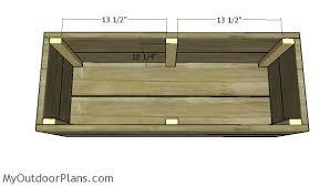 free planter box with trellis plans