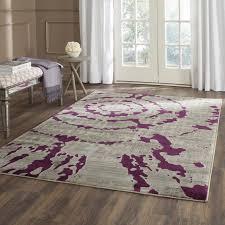 68 most fine grey area rug purple rug purple grey rug violet rug gold rug flair