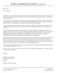 Architecture Student Cover Letter Architecture Cover Letter Sample