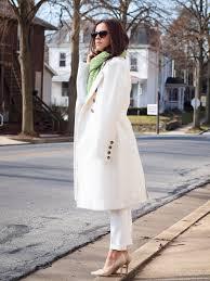 bittersweet colours winter coats white coat white on white trend street style
