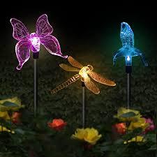 solar garden stake lights