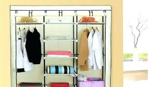 cloth closet organizer ikea canvas household essentials hanging with plastic best wardrobe storage by cotton