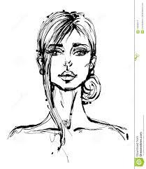 Illustrazione Disegnata A Mano Di Vettore Del Bello Fronte Della