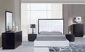 Metro Bedroom Furniture Metro Bedroom In White Wenge W Platform Bed By Global
