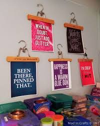a diy craft room on wall art for craft room with 232 best quotes images on pinterest kid quotes thoughts and baby