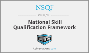 skills and qualifications national skills qualifications framework nsqf simran ias academy