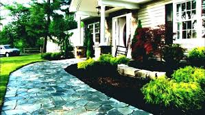 simple landscaping ideas home. Small Front Entrance Garden Ideas Simple Landscape For House Yard Landscaping Collection Of Home B