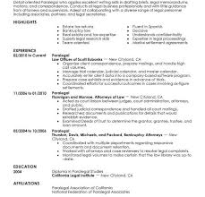 Paralegal Resume Adorable 6060 Paralegal Resume Examples Apamemo