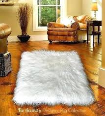 white fur area rug white faux fur area rug polar bear sheepskin rectangle 6 sizes fur white fur area rug