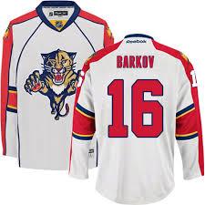 Barkov Florida Aleksander Away Premier Men's 16 Panthers White Jersey - Nhl Reebok