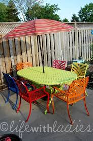 painting wrought iron furniture. Colored Wrought Iron Furniture 25 Unique Painted Patio Table Ideas On Pinterest Tables Painting R