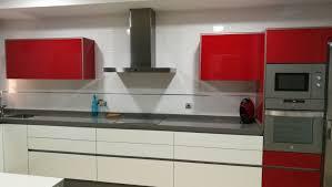 Cocinas Blancas Y Rojas