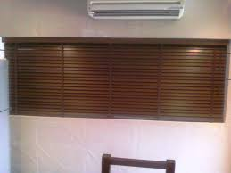 wooden blinds for large windows
